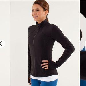 Lululemon Forme Jacket *Brushed Black Size 8